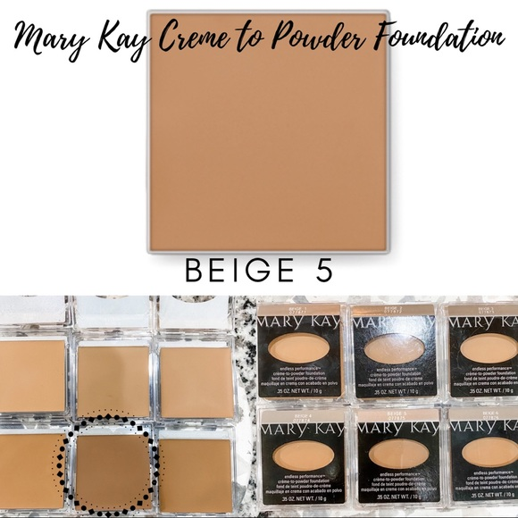 Mary Kay Creme to Powder Foundation In Beige 5